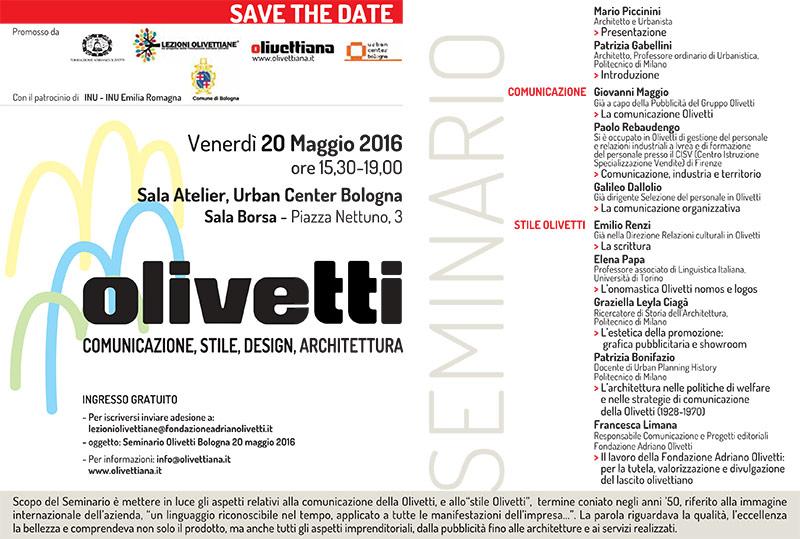 Invito-Olivettiana